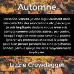Automne | Lizzie Crowdagger