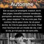 Automne | Sabine Huynh