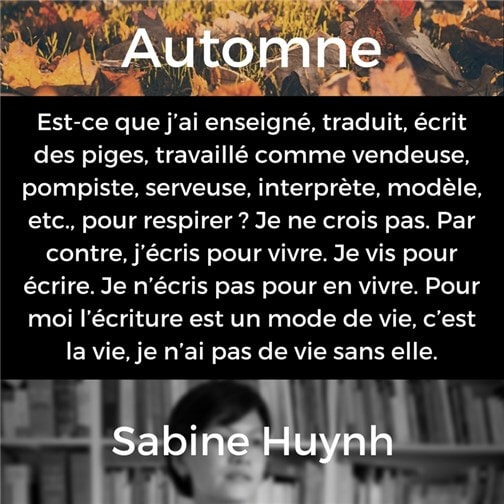 Automne | Sabine Huynh